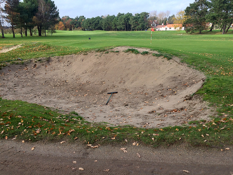 Royal Zoute Golf Club Knokke - durabunker